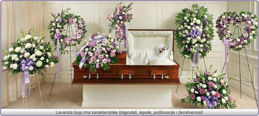 , Cvece za groblje i sahrane